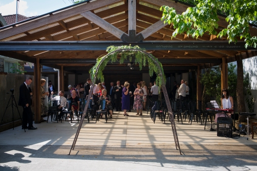 Ceremony at The Italian Project, Camden