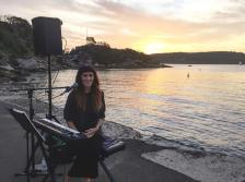 Larissa McKay acoustic solo at The Quarantine Station, Manly